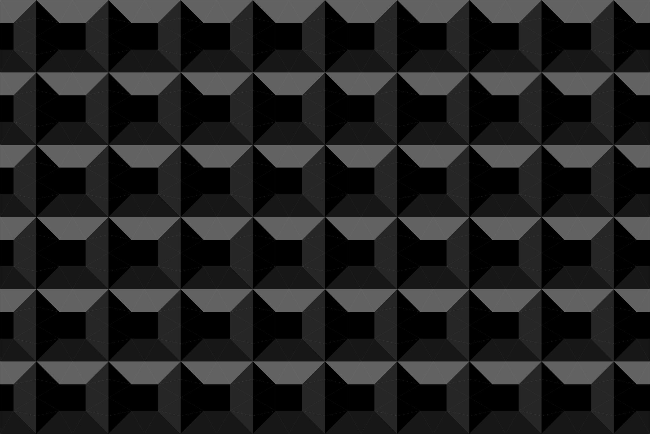Dark seamless geometric textures example image 7