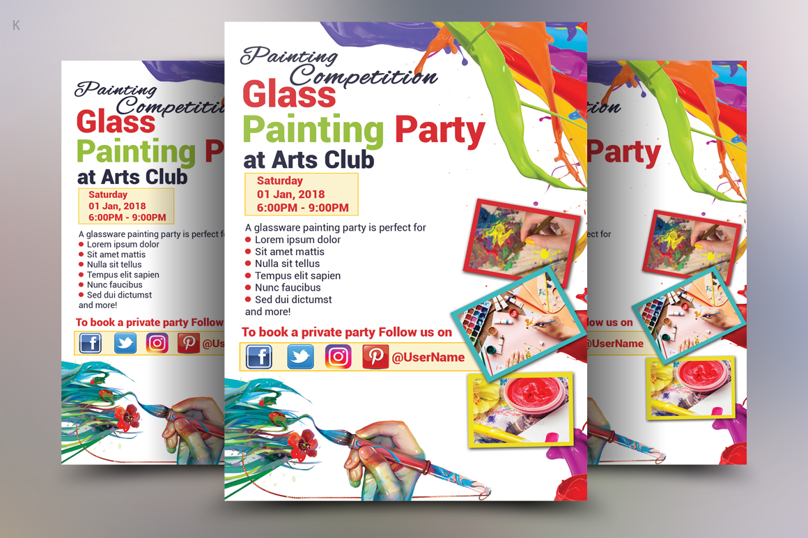 painting Flyer example image 3