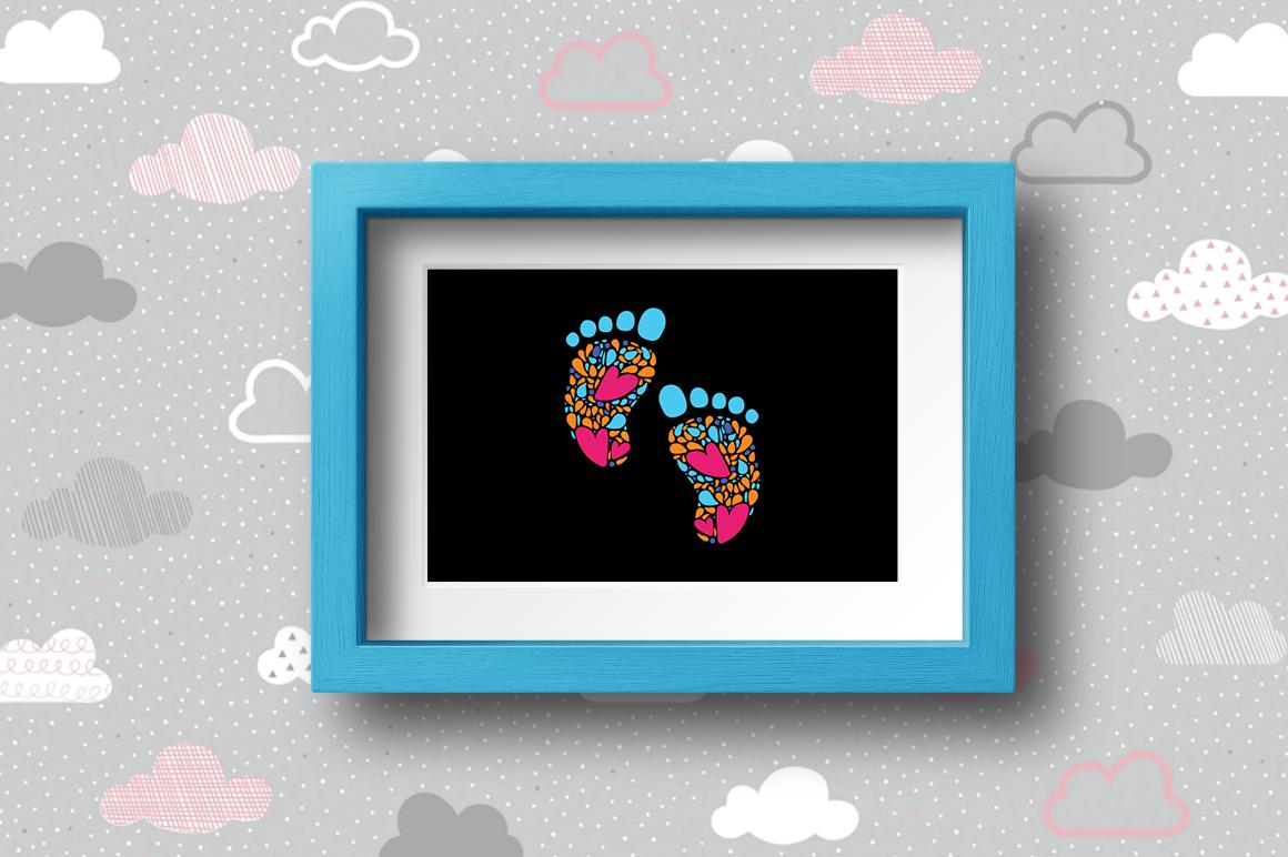 BUNDLE Pregnancy Announcement SVG Cut Files example image 24
