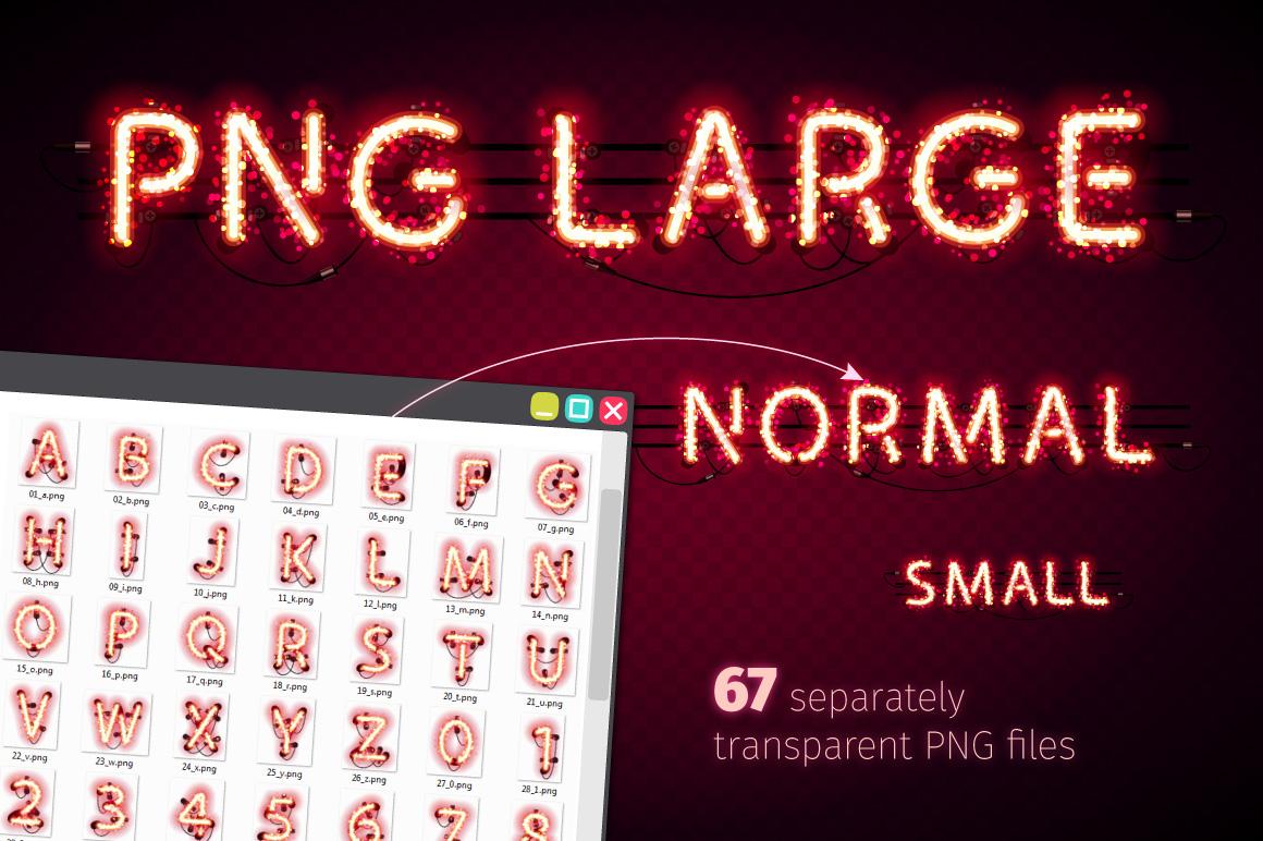 Glowing Magic Neon Type example image 5