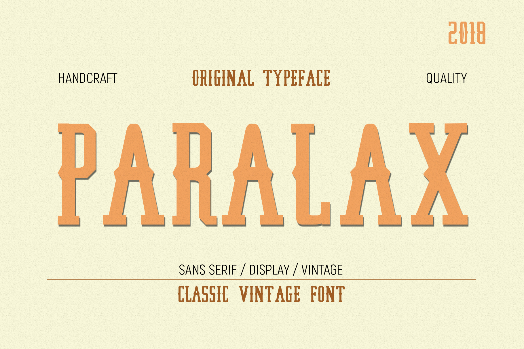 Paralax Typeface example image 1
