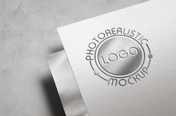 Logo Mock-Up Paper Edition example image 18