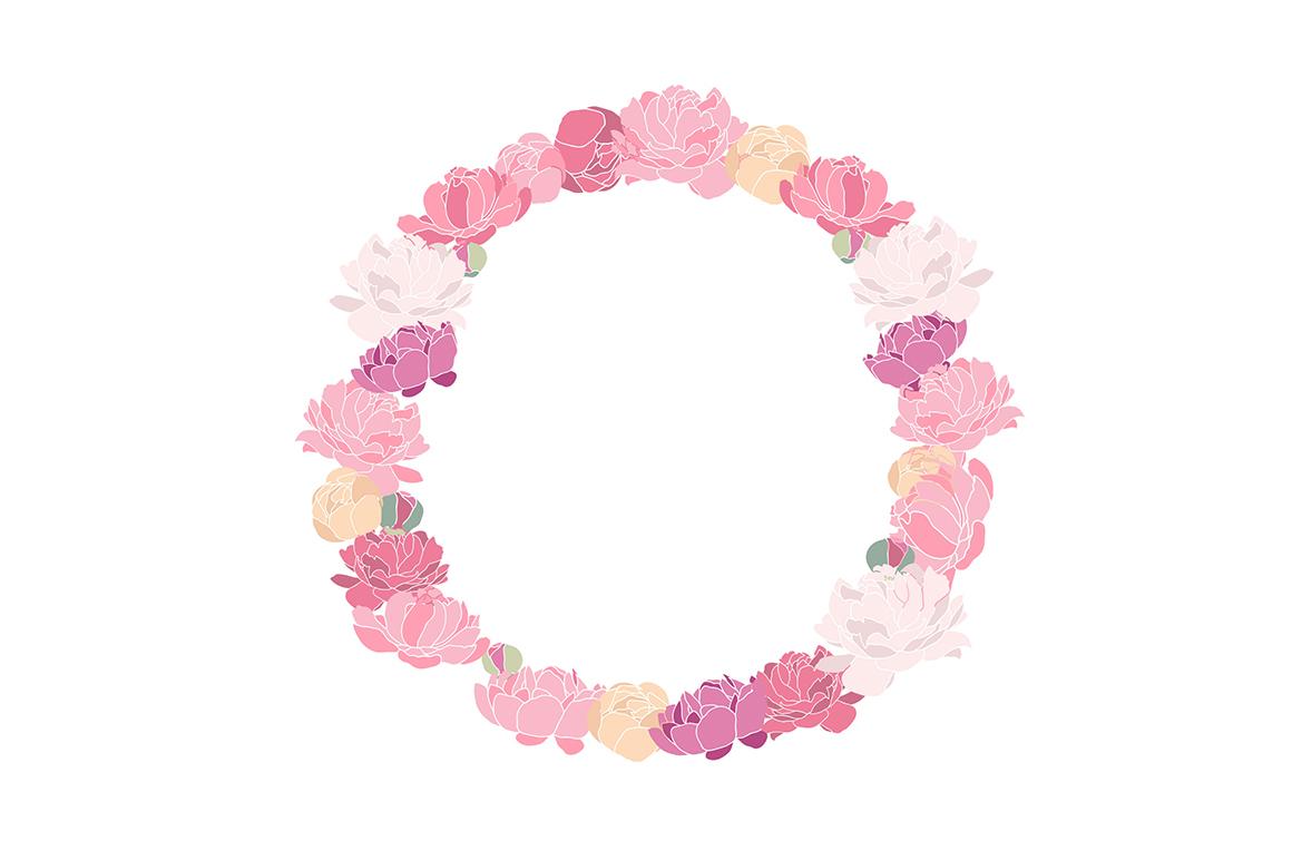 Flower Peonies example image 2