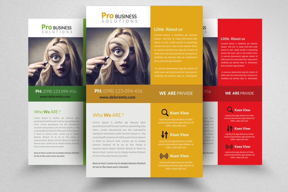 6 Professional Business Flyers Bundle example image 3