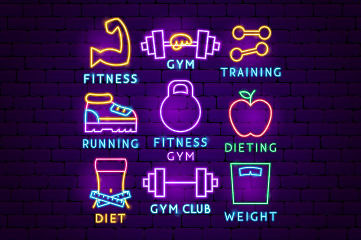 Fitness Neon example image 7