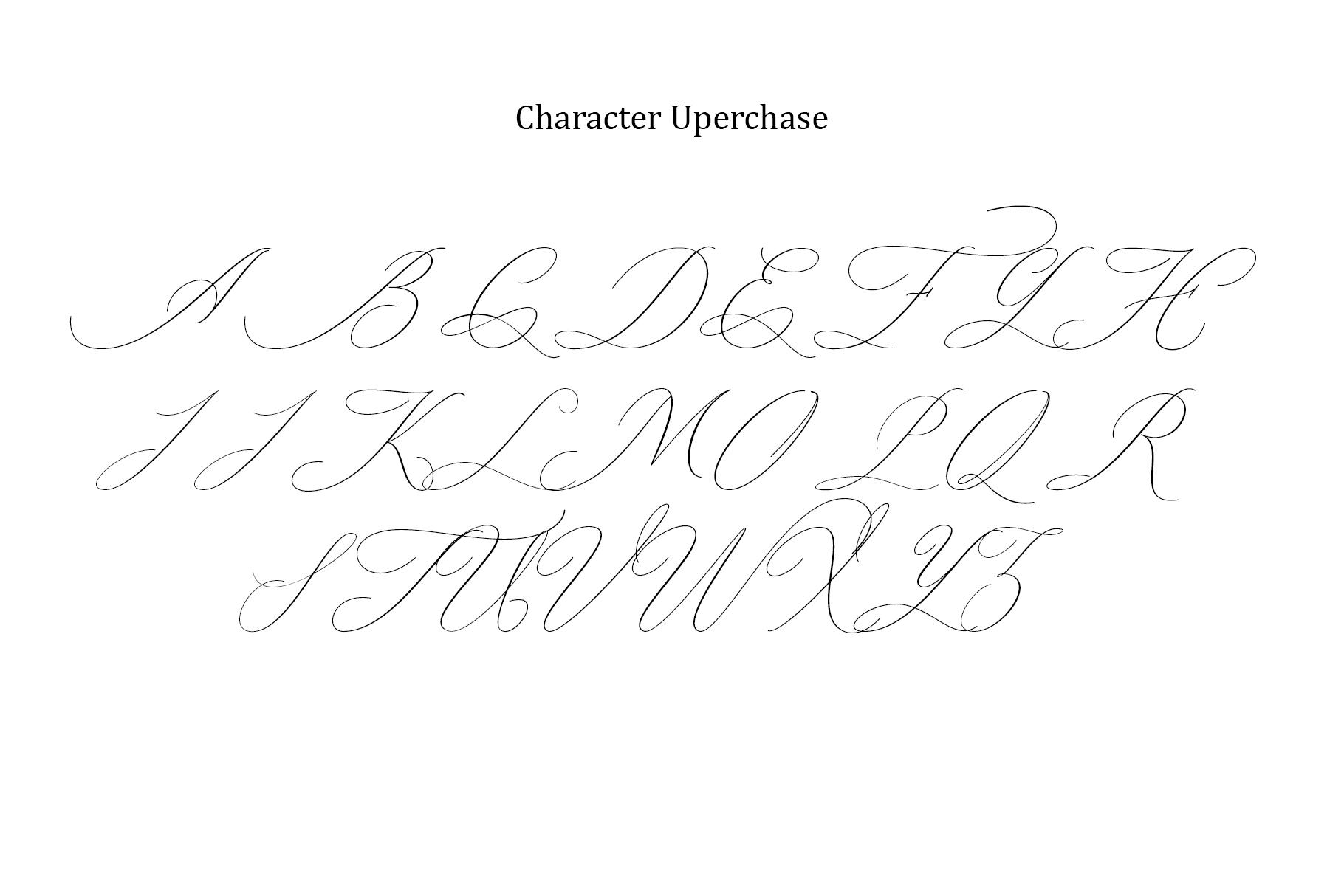 oklahoma calligraphy font example image 7