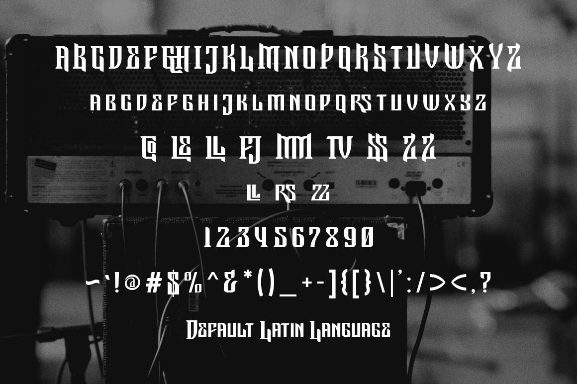 Jemahok Typeface example image 4