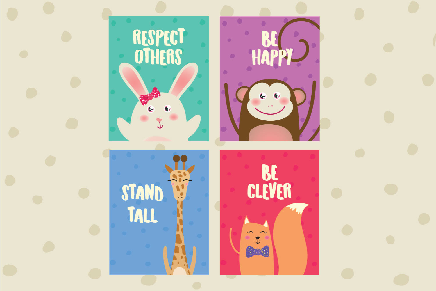 Cute Animal Posters example image 3