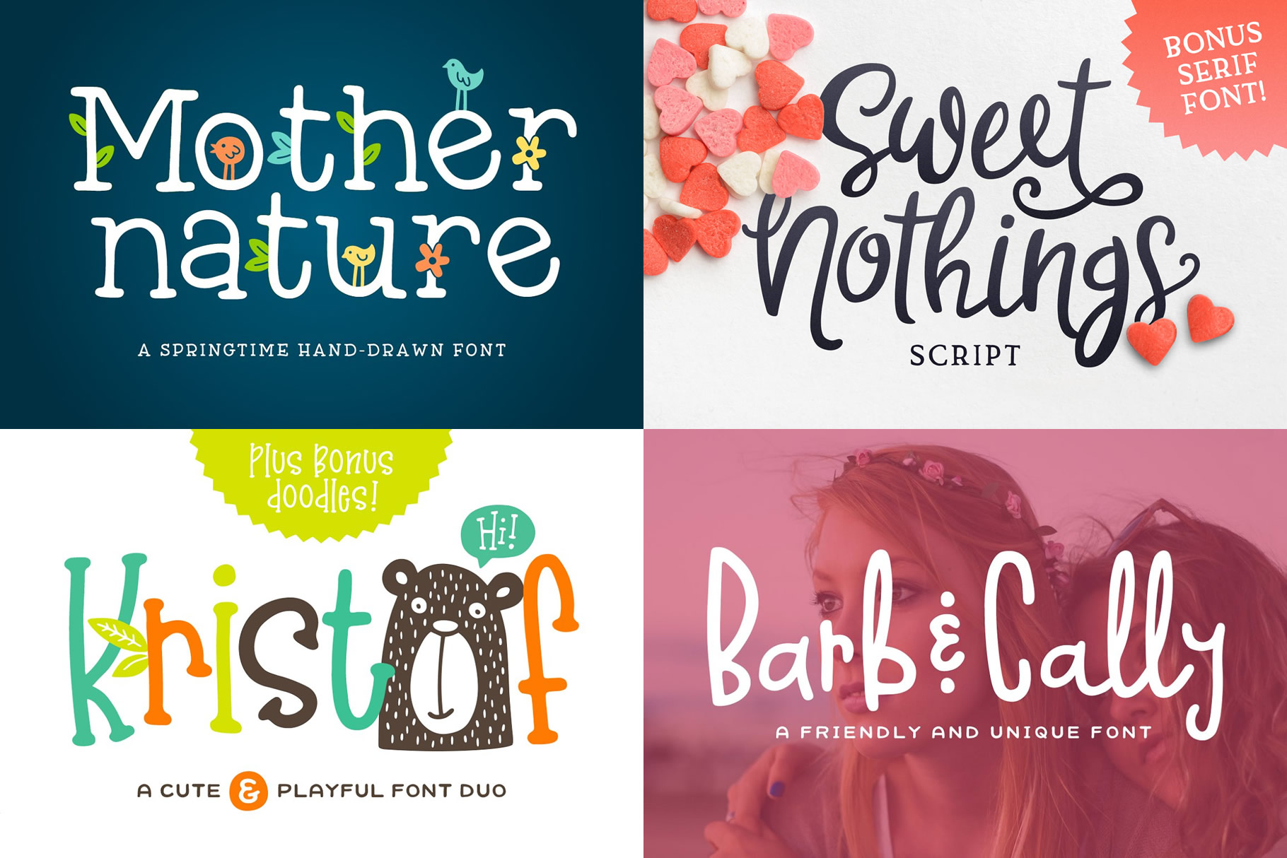 Sweet Tooth Font Bundle example image 3