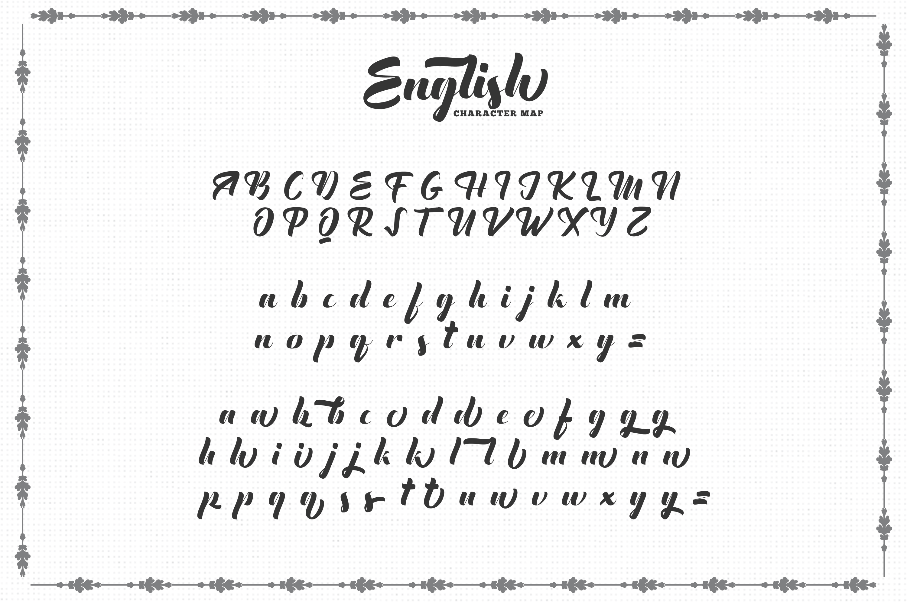 The English Font - Vintage Lettering example image 5