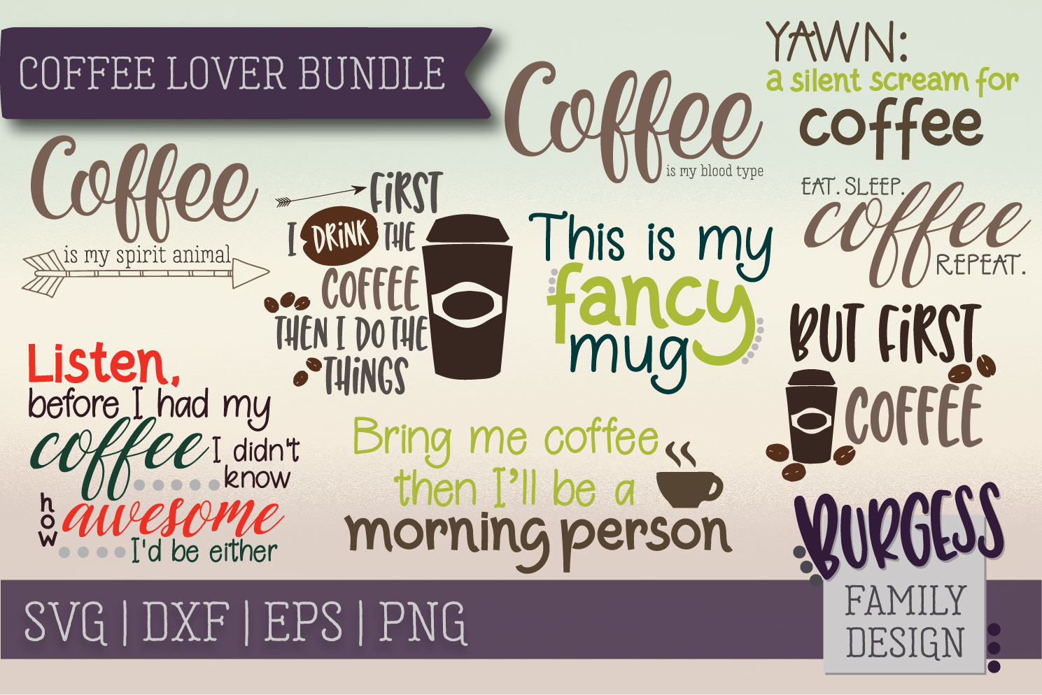 The starter bundle - Over 200 Designs | SVG DXF EPS PNG example image 11