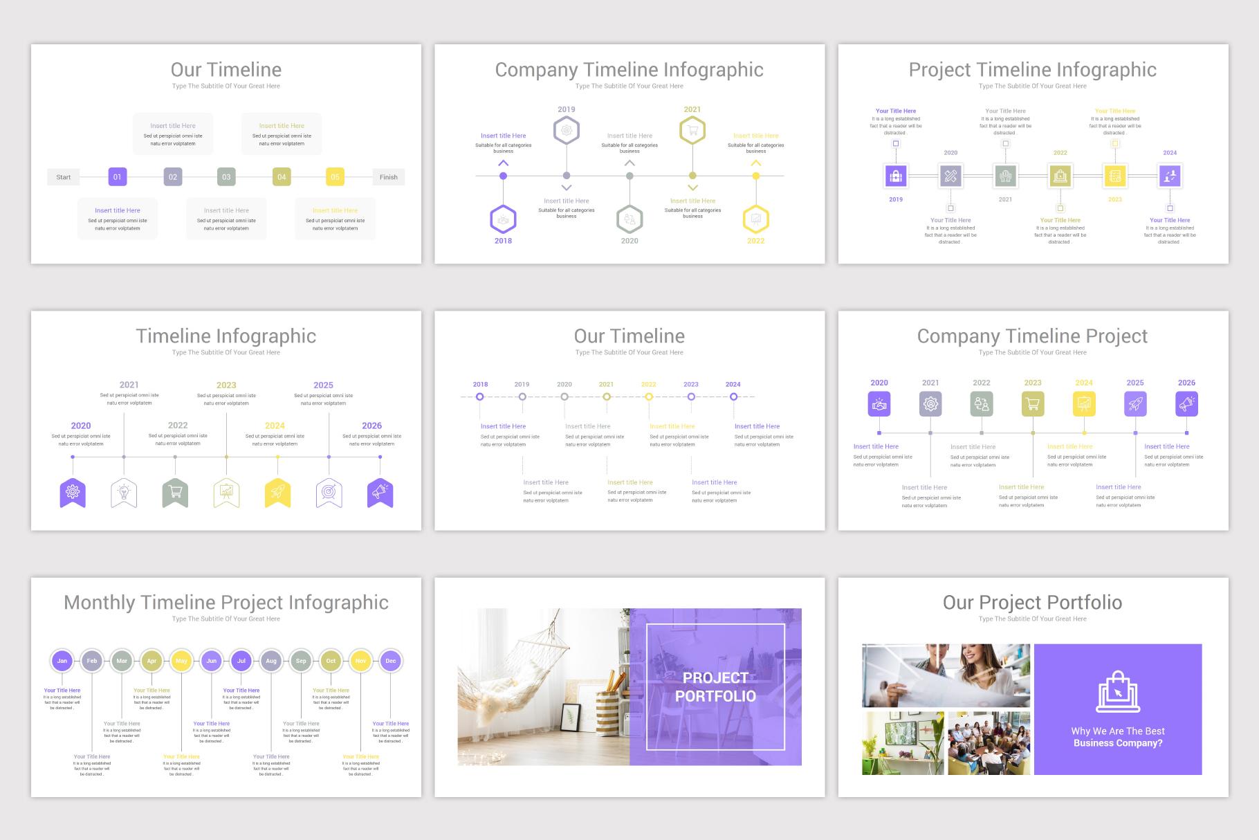 Company Profile Keynote Template example image 14