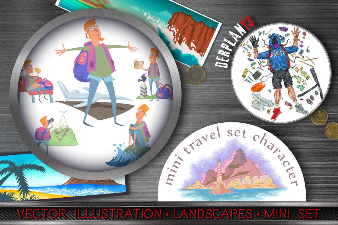 Mini Travel Character Set example image 1