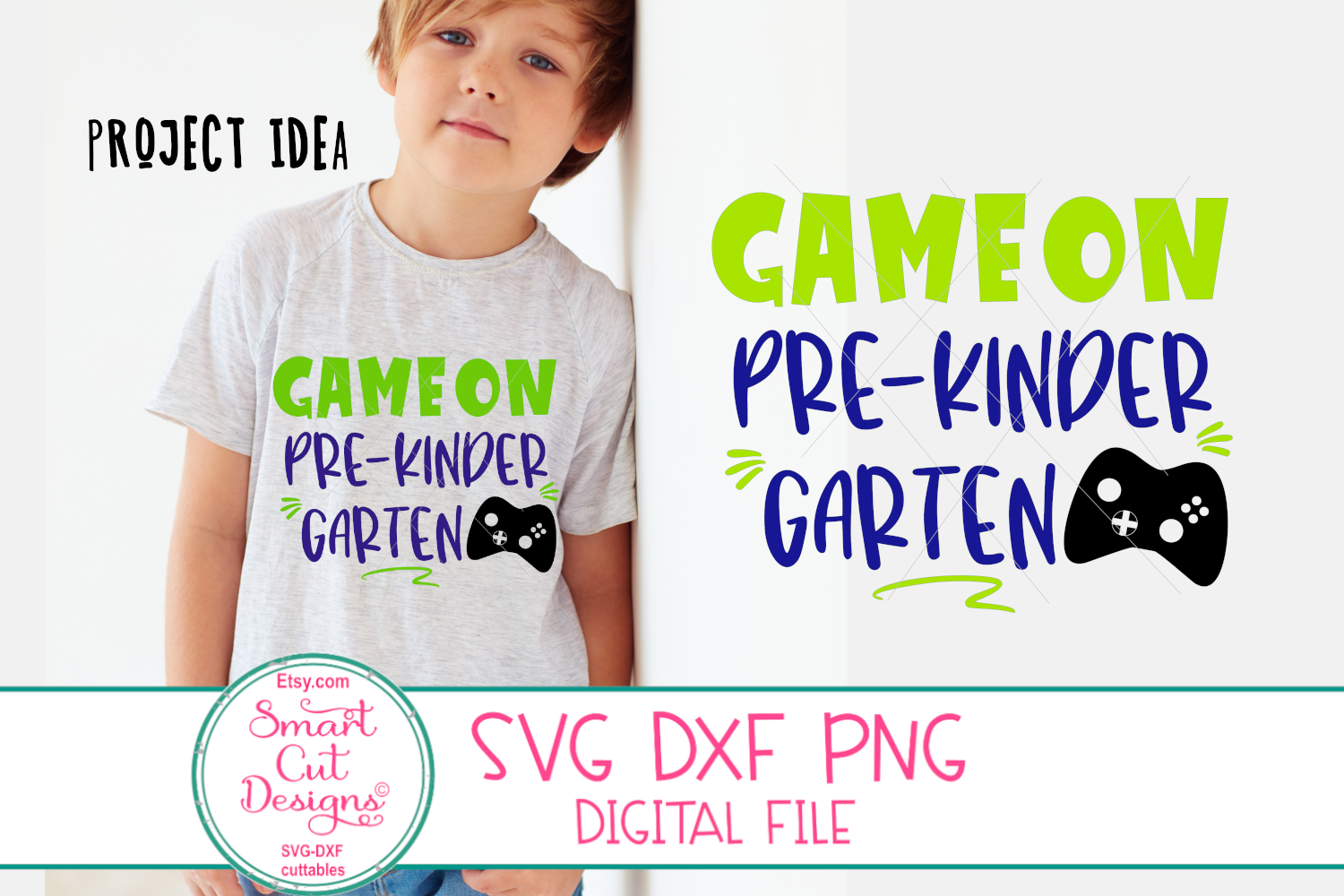 Back To School SVG Bundle, First Day At School SVG, Game On example image 4