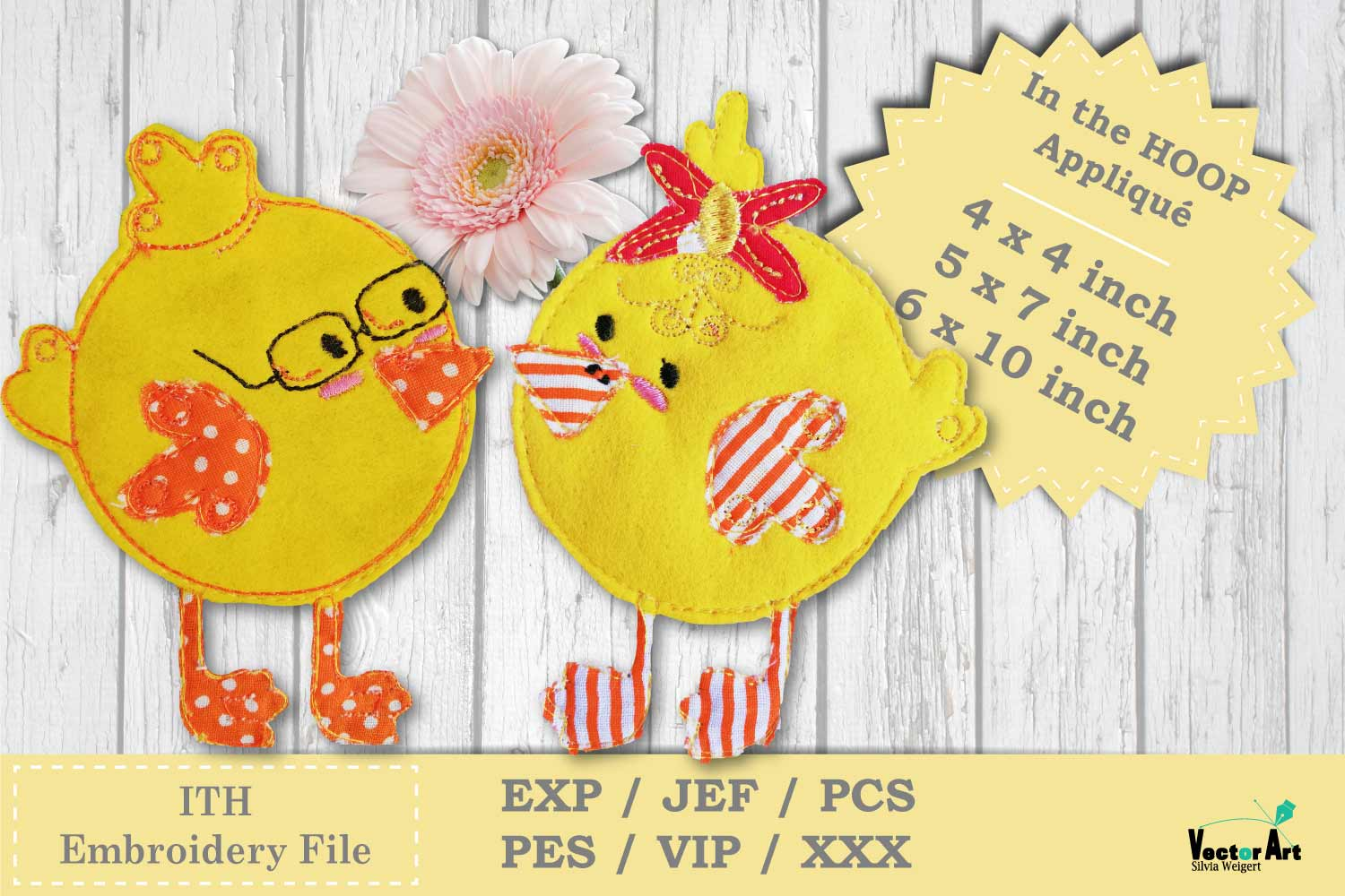 ITH Easter Bundle - Machine Embroidery Files - 10 Projects example image 13