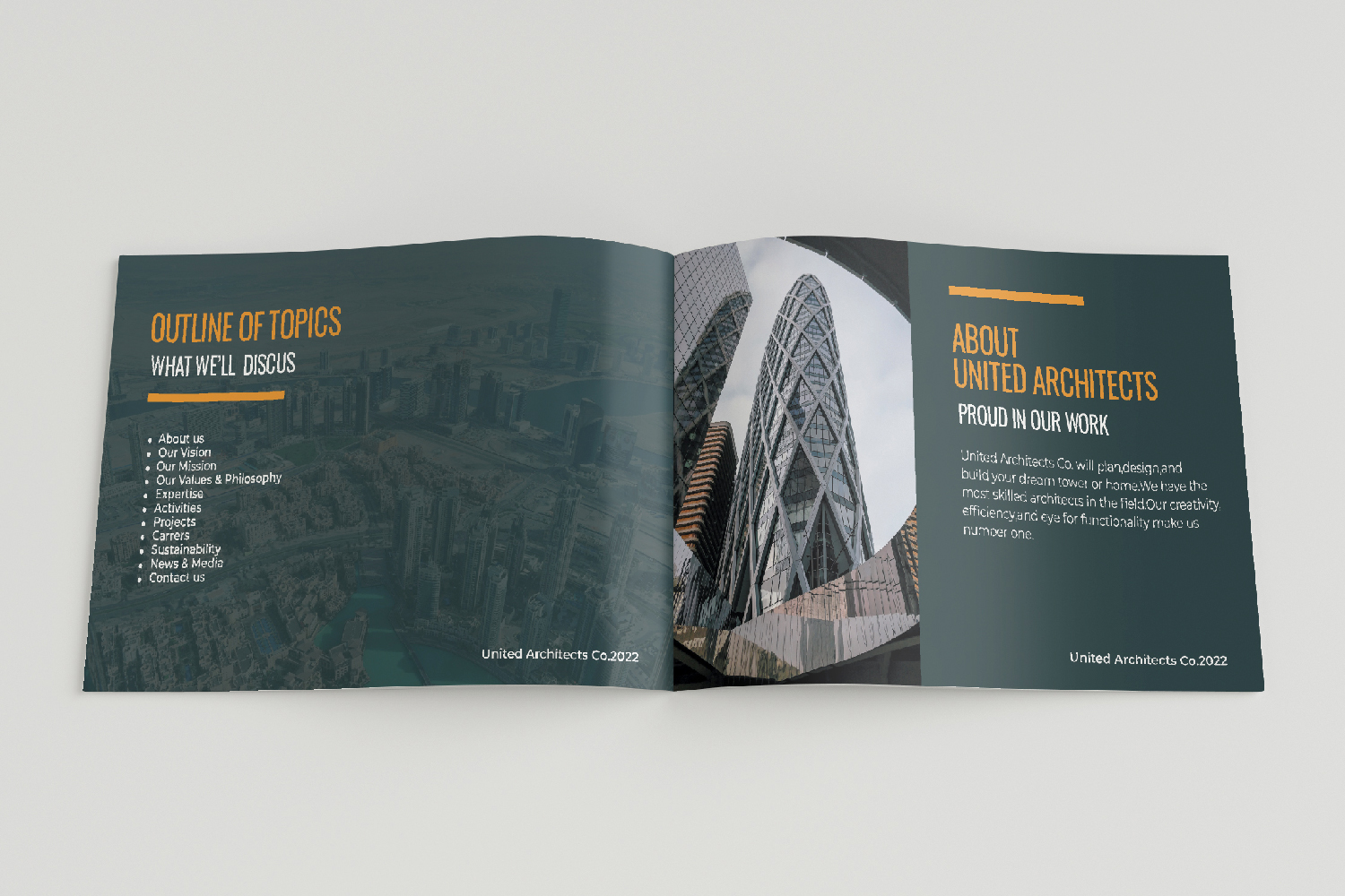 Architecture Presentation - A5-26 PSD Templates example image 4