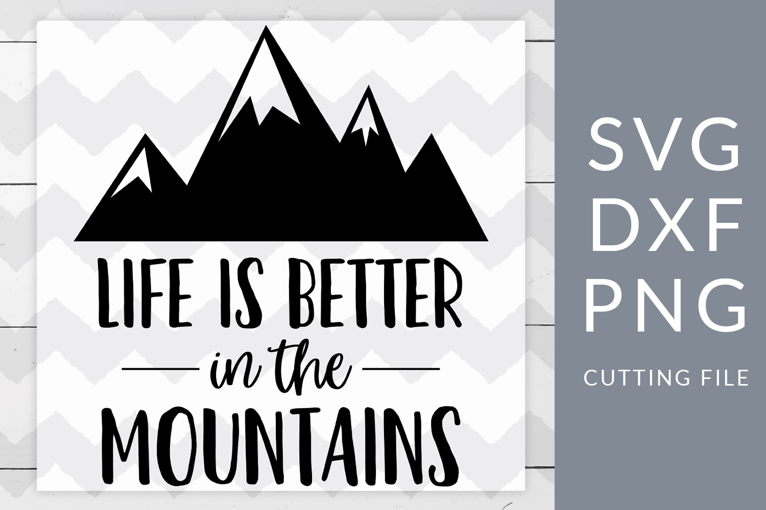 Camping Mountains SVG, DXF, PNG, Cut File example image 1