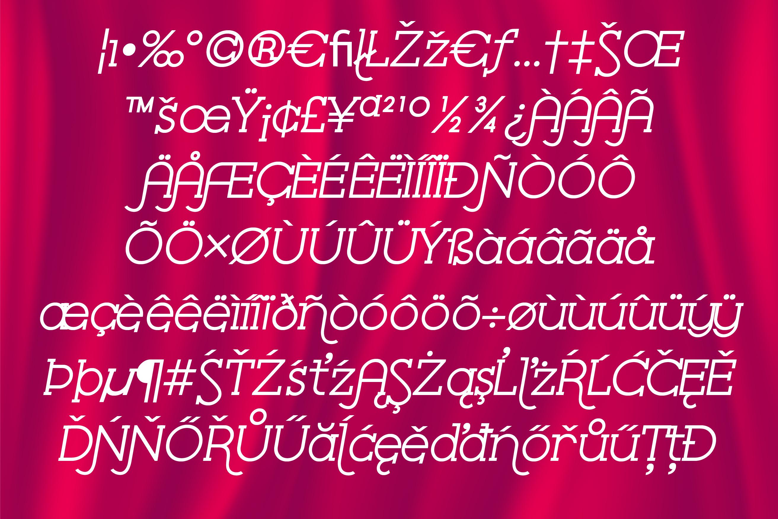 ZP Serif Velour example image 4