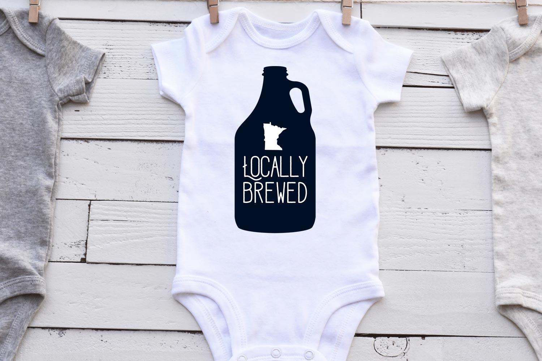 Brewed Locally Minnesota example image 1