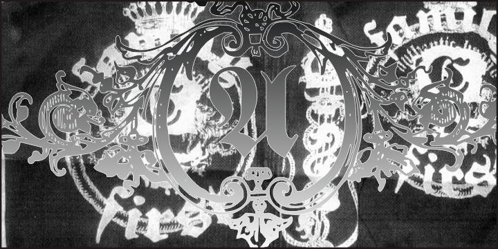 Hostetler Fette Altfraktur Ornamental  example image 4