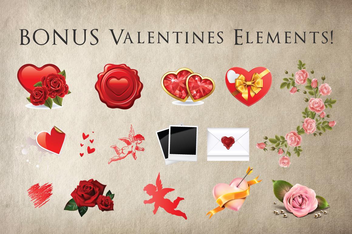 Chalk Valentines Flyer example image 4