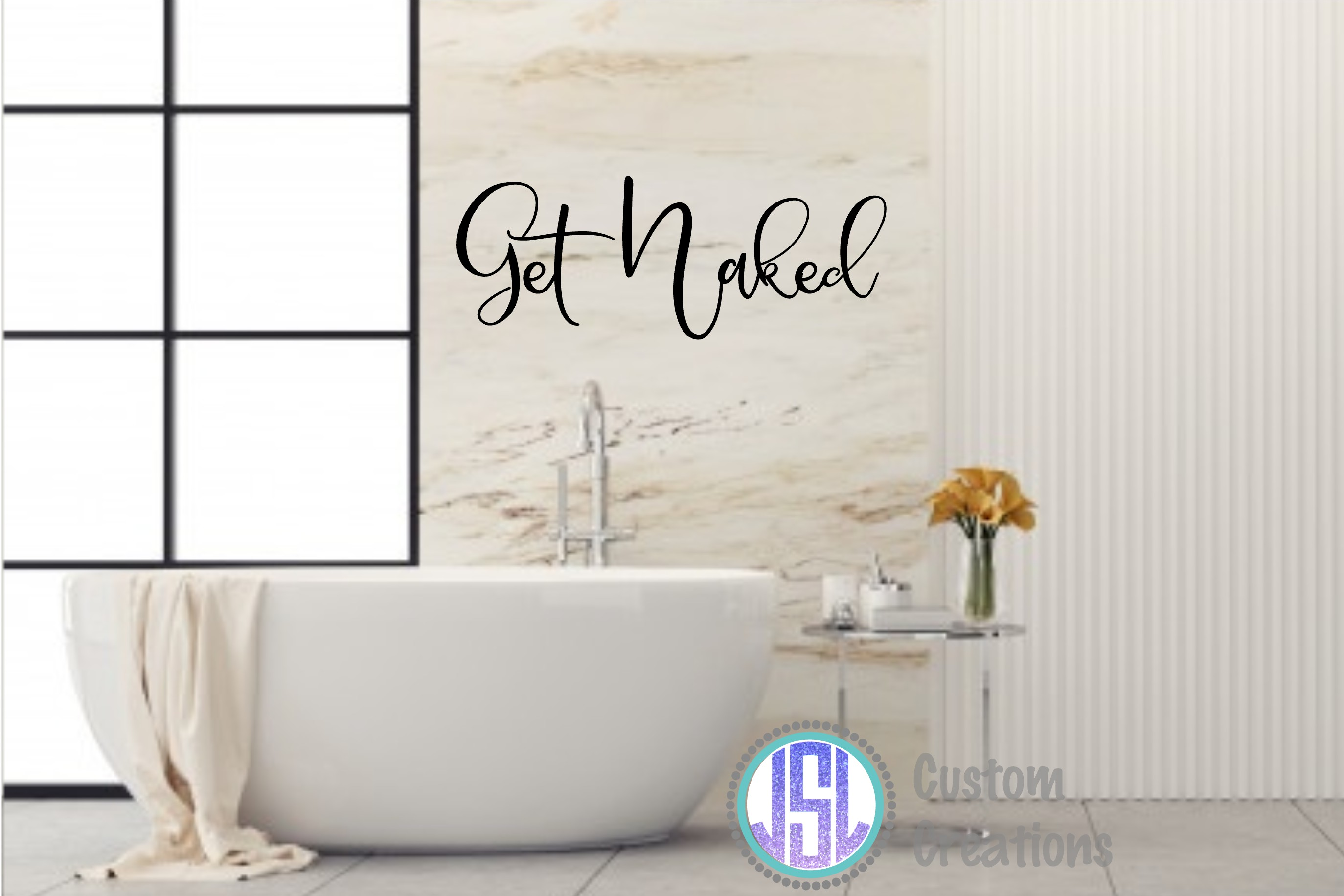 Bathroom Quotes Bundle | Set of 10 | SVG DXF EPS PNG example image 4