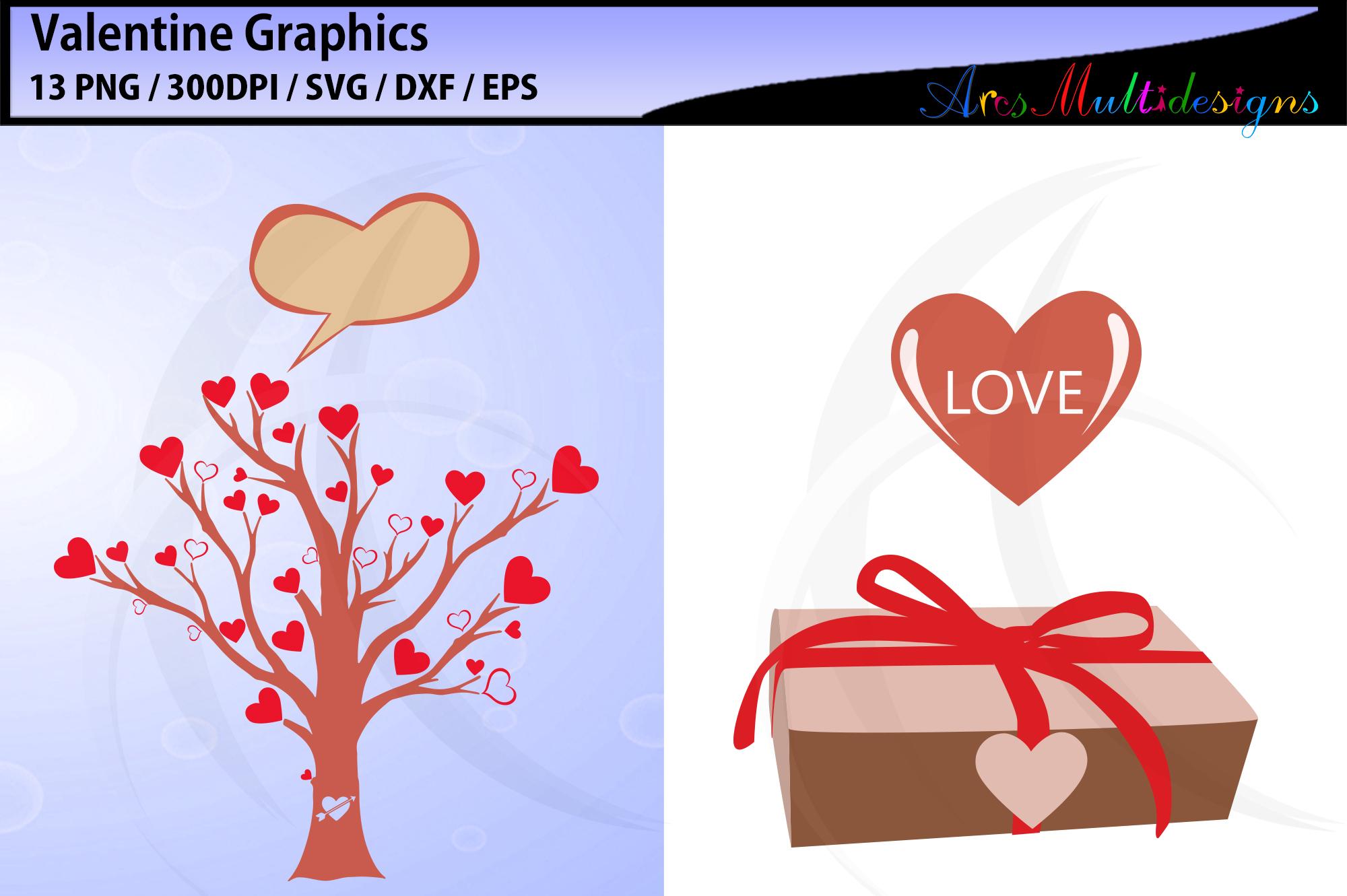 valentine svg / valentine graphics / valentine's day clipart example image 4