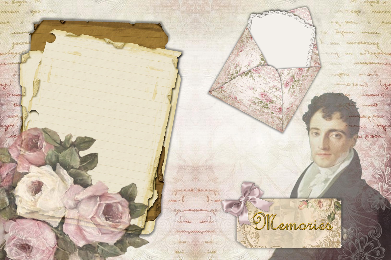 Printable Journaling Kit Victorian with FREE EPHEMERA cu example image 7
