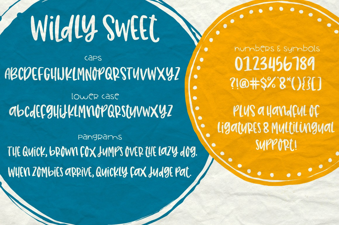 Wildly Sweet Handwritten Font example image 2
