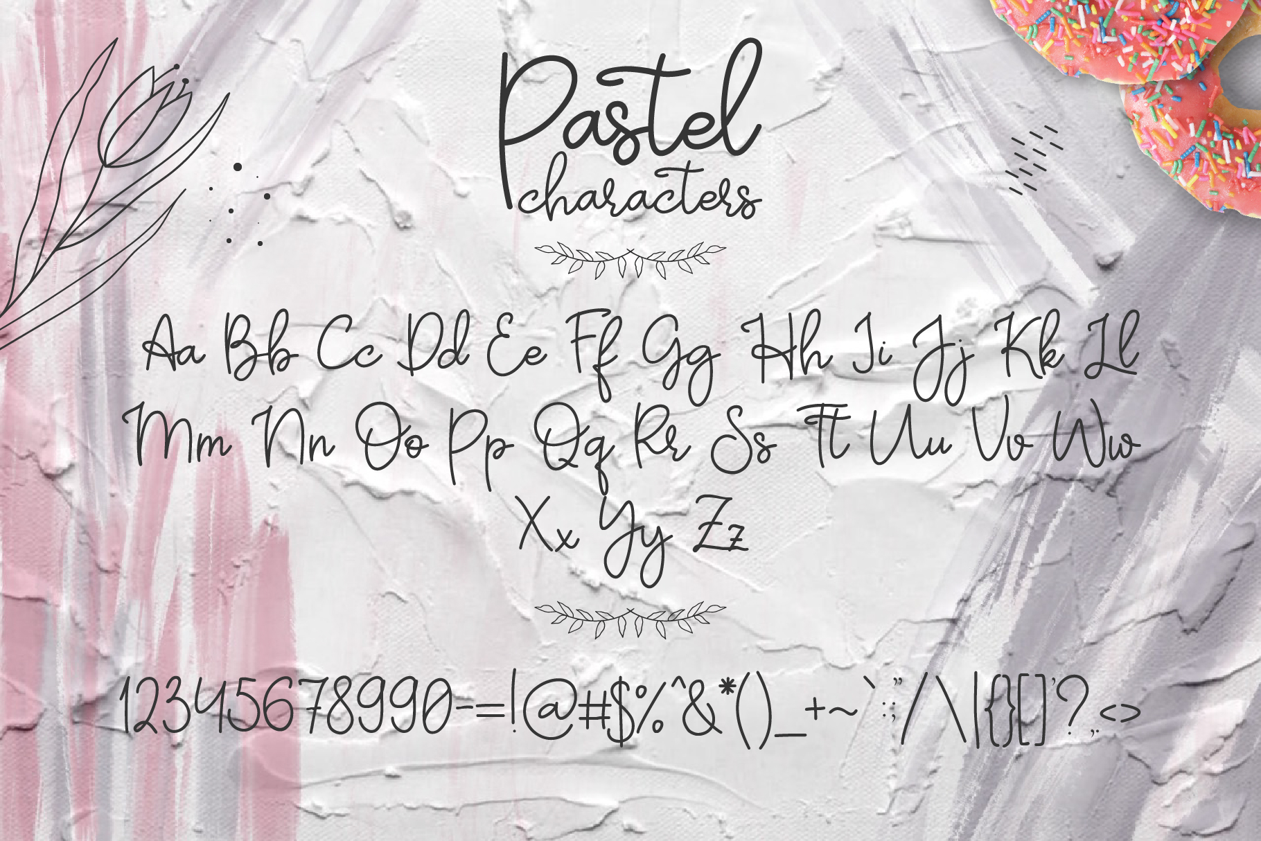 Pastel | hand-written font example image 5