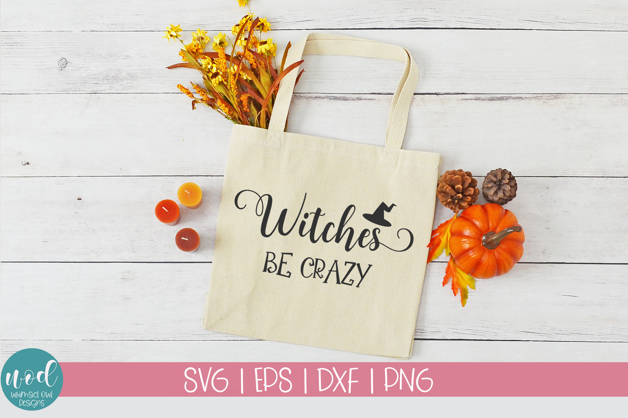 Witches Be Crazy SVG File example image 3