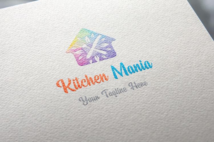 Hut Shape Kitchen Logo example image 3