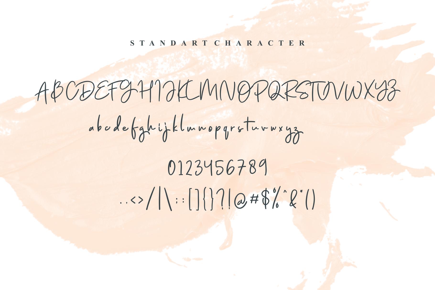 Jenifa Script Font example image 8