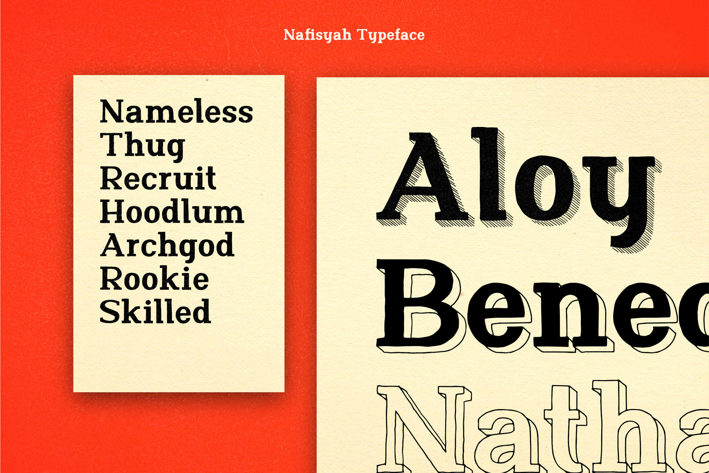 Nafisyah Slab Display Font Collection example image 10