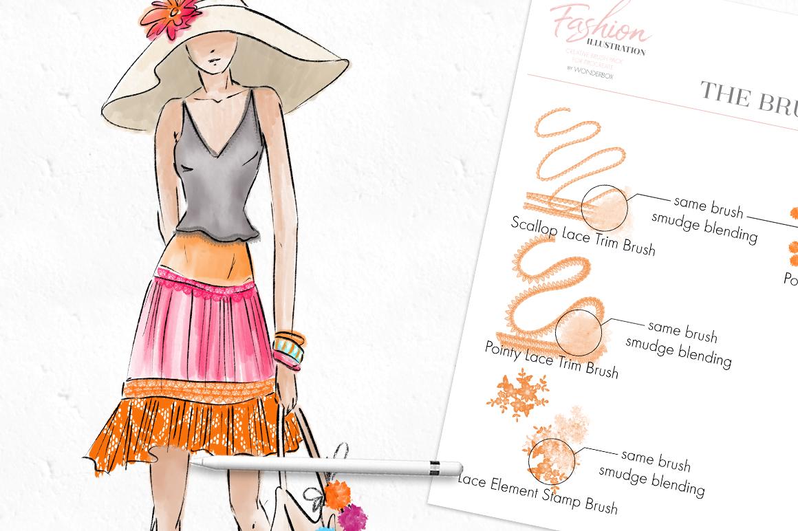 Fashion Illustration Brushes for Procreate example image 10