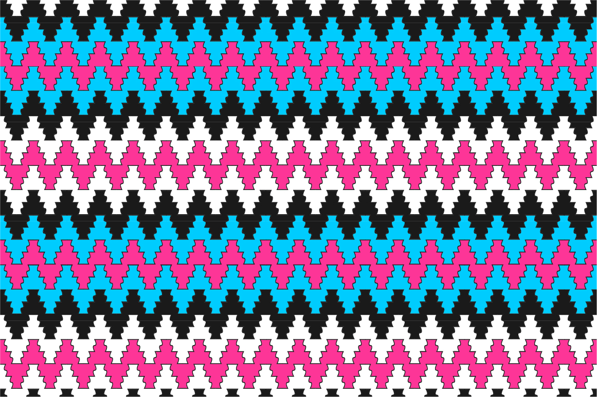 Colorful ornamental patterns. example image 7