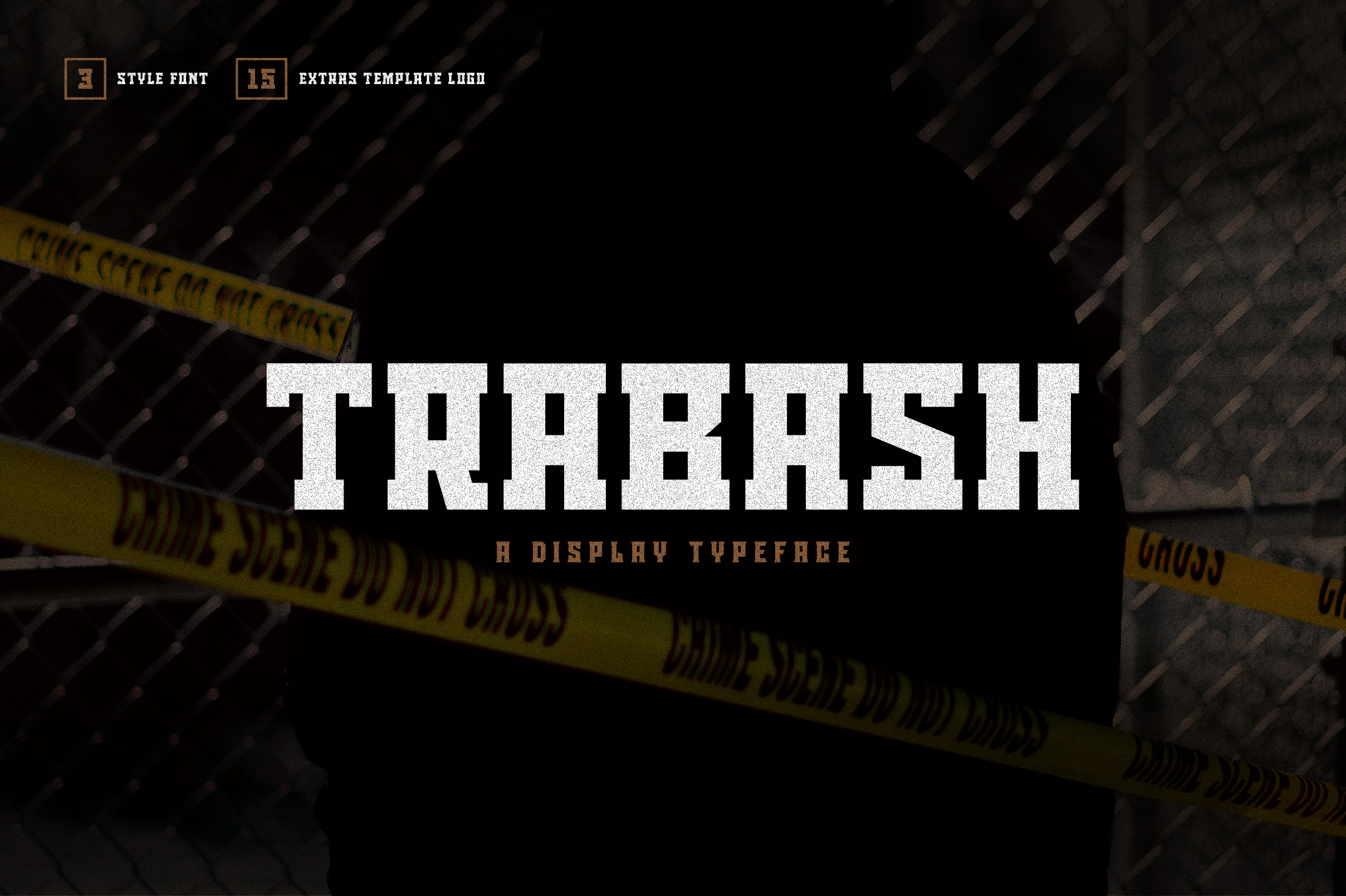 Trabash Font & Extras example image 1