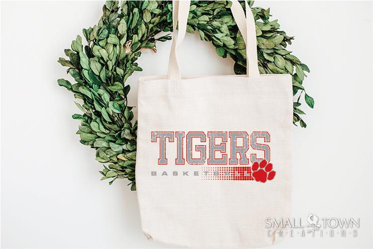 Tigers basketball, tiger mascot, team, PRINT, CUT, DESIGN example image 5