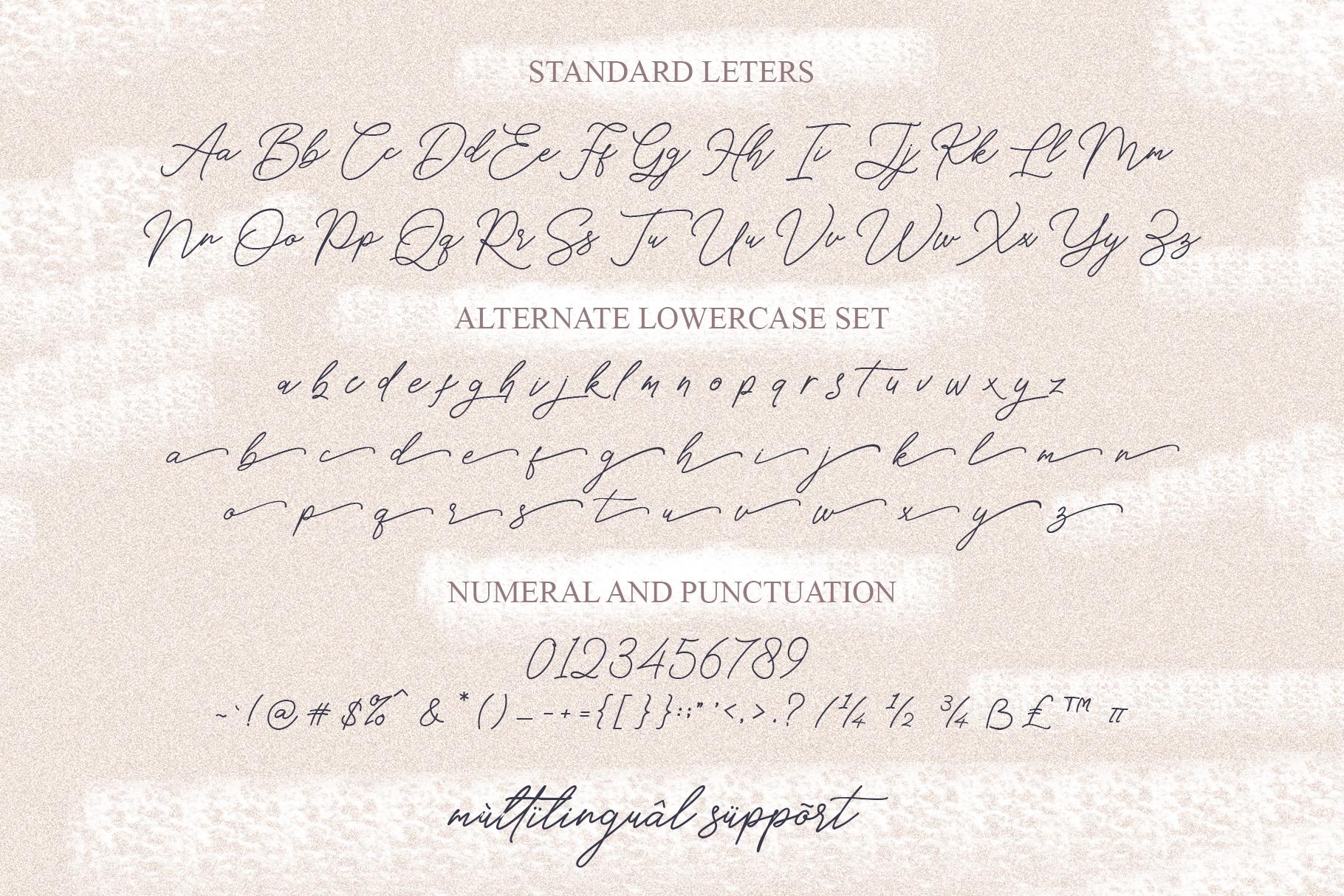 Hello Signature Font example image 9
