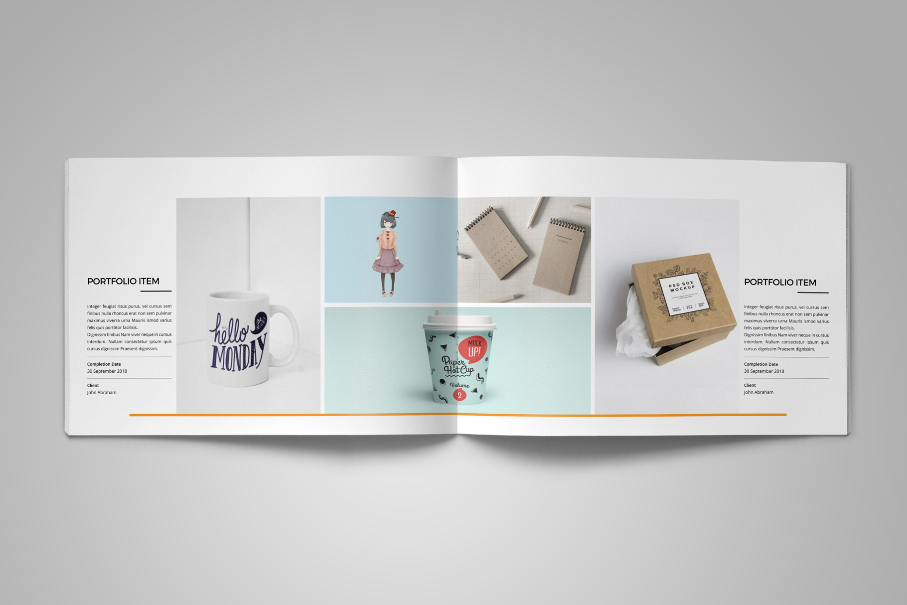 Portfolio Brochure Design v5 example image 7