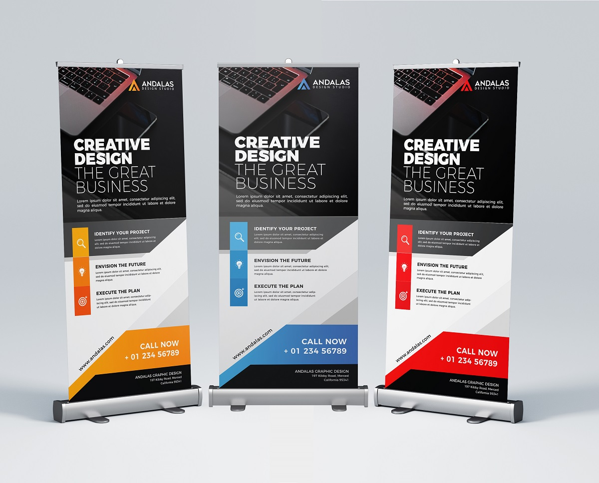 Roll Up Banner Template example image 2