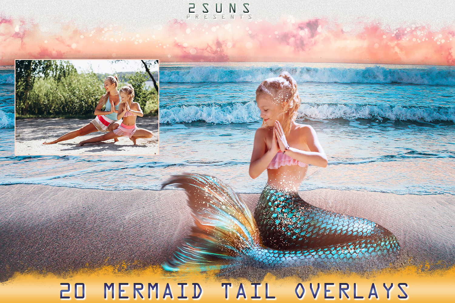 Mermaid tail, tails, overlays, Clipart, PNG, example image 4