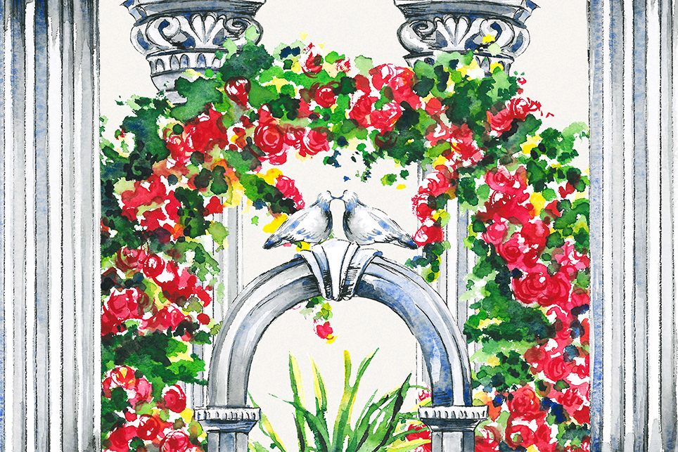 Tree clipart, topiary clipart, garden clipart, trees clipart example image 2