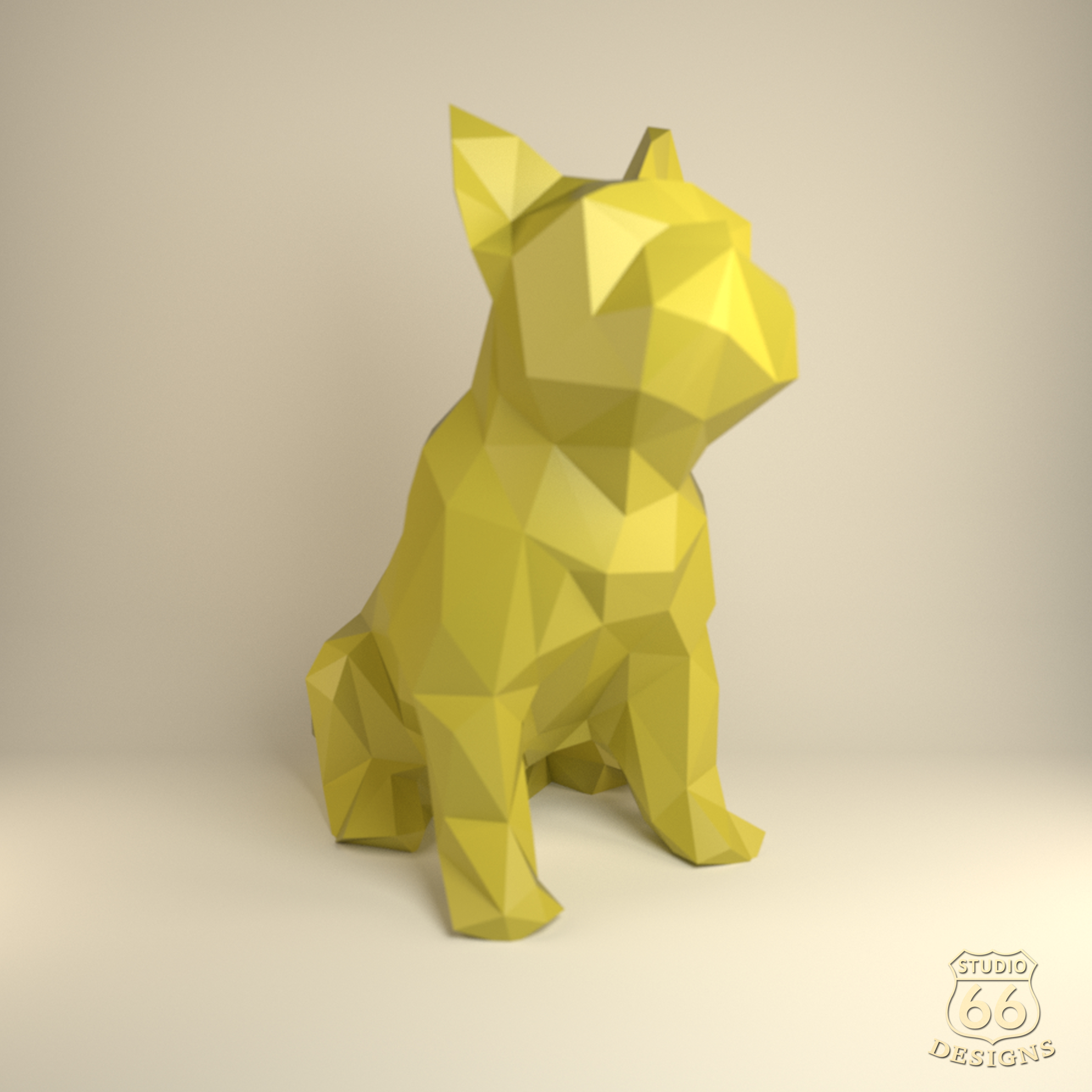 French Bulldog Papercraft Bulldog Paper Dog Paper Animals