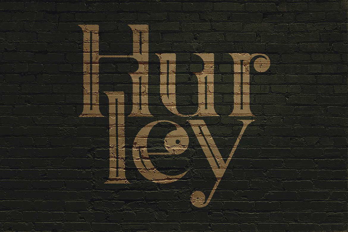 Hurley - Vintage Style Font example image 5