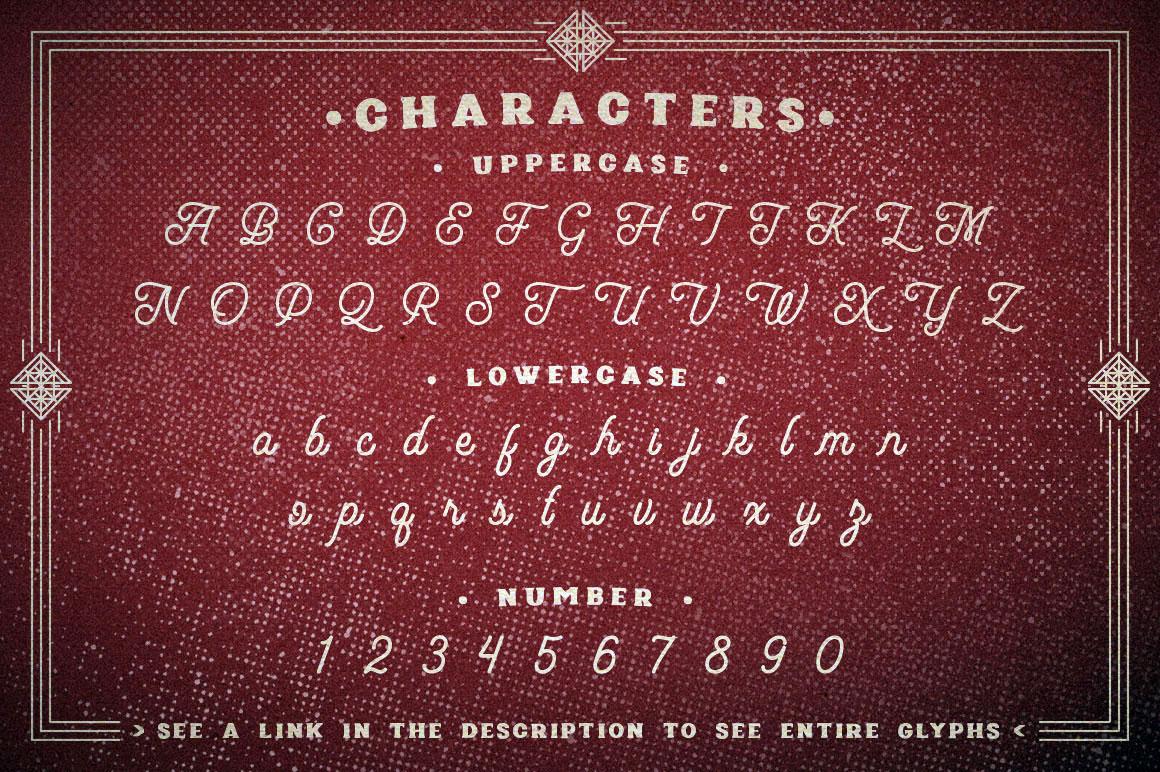 Poptis & Heaver Font example image 2