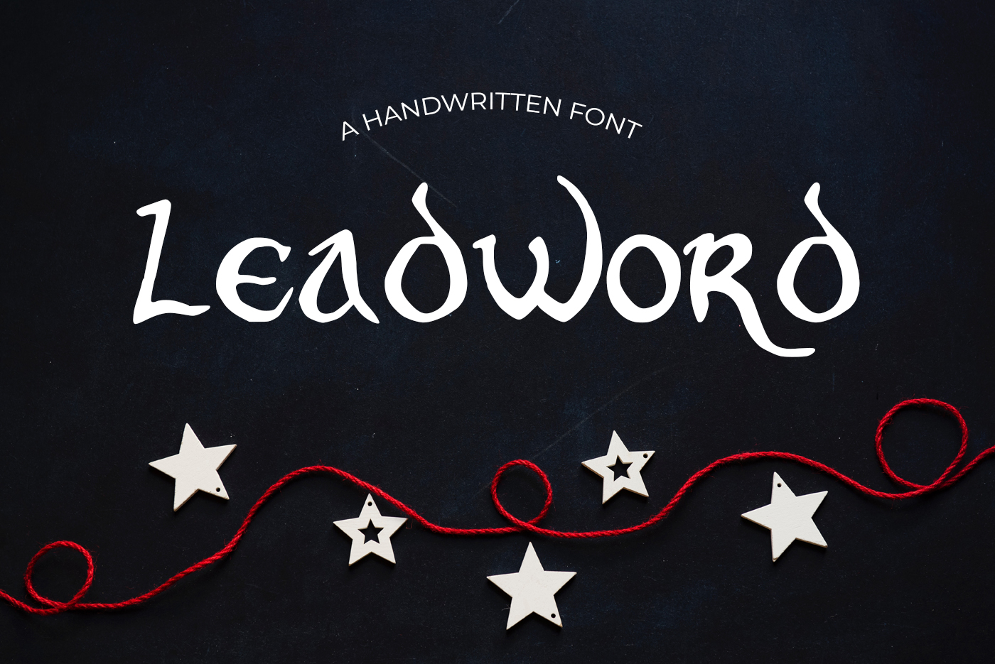 15 Creative Handmade Fonts Bundle example image 15