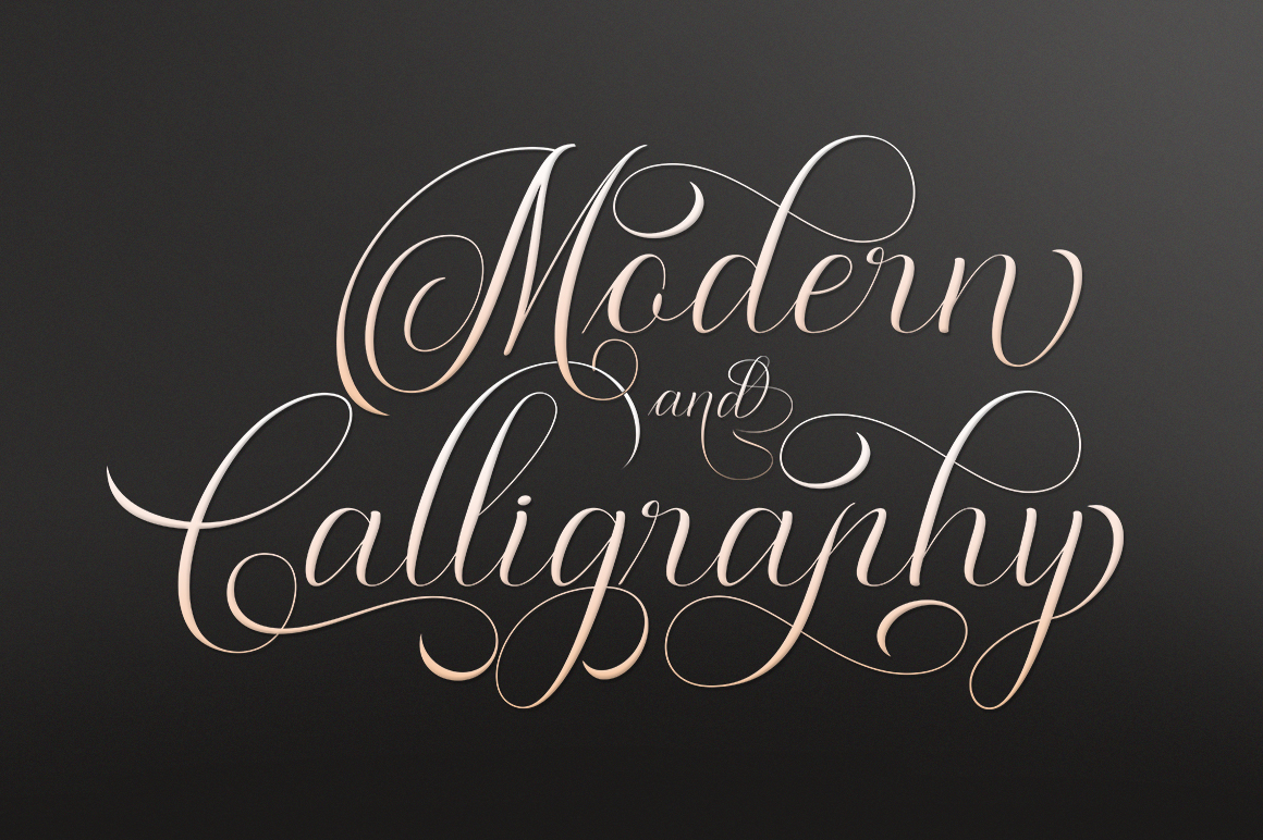 Moderena Script || 3 Style example image 2