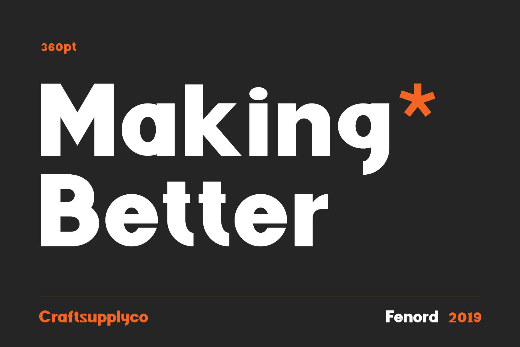 Fenord - Old School Sans Serif example image 7