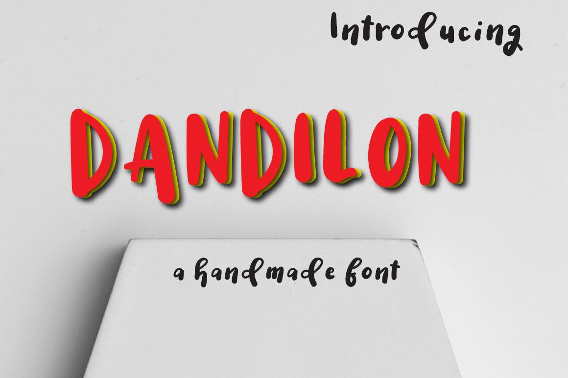 Dandilon Multilingual Typeface example image 1